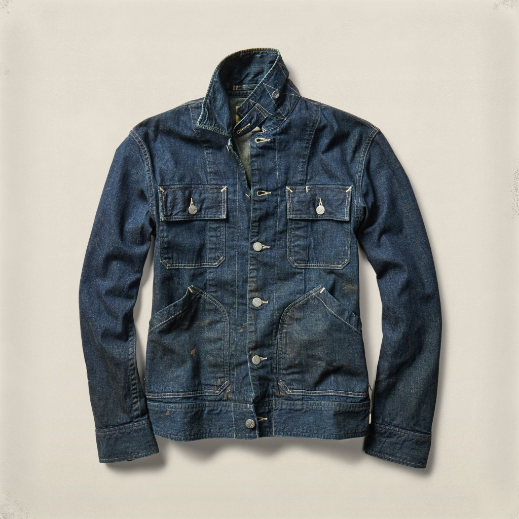 RRL Kenney denim jacket