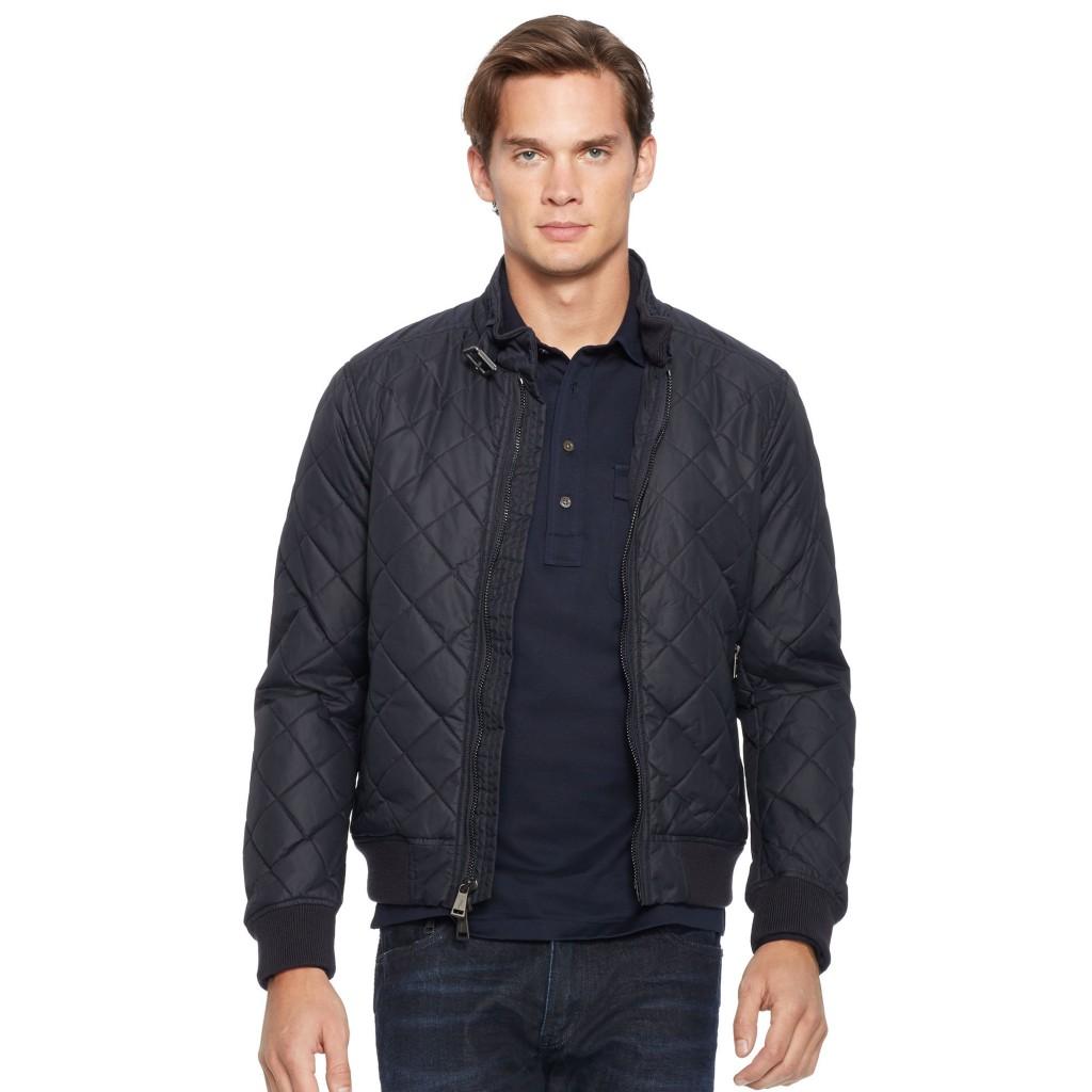 Ralph Lauren quilted bomber jacket