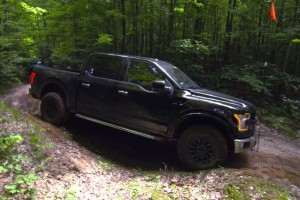 The 2017 Ford Raptor Flexes Its Off-Road Muscle