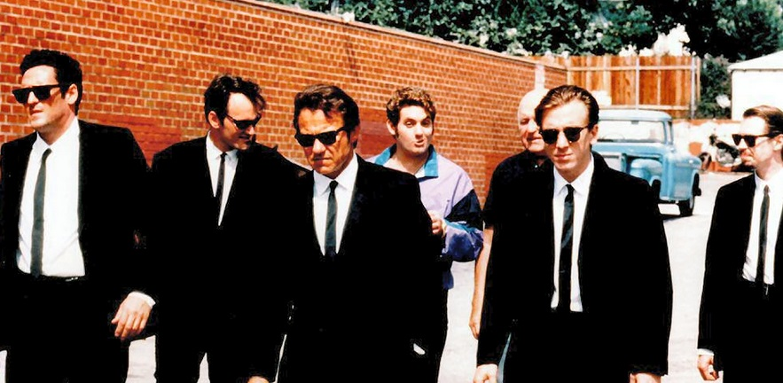 The cast of Reservoir Dogs