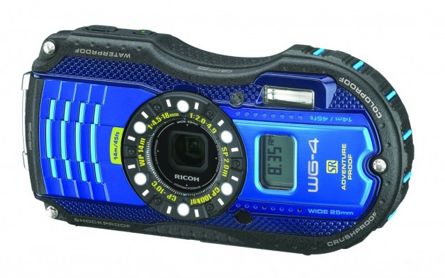 Ricoh WG-4 GPS digital camera