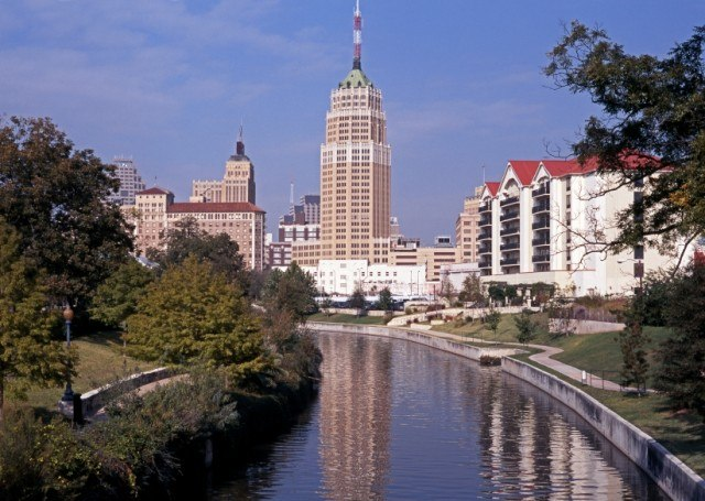San Antonio city view