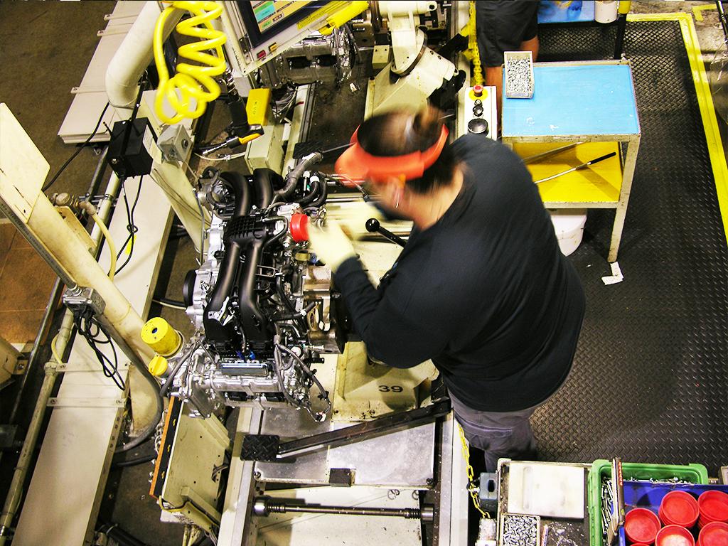Subaru plant