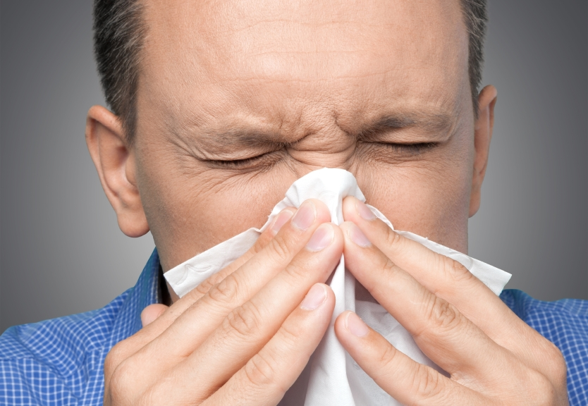 Sneezing, Cold And Flu, Flu Virus.