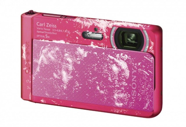 Sony Cyber Shot TX30 pink digital camera