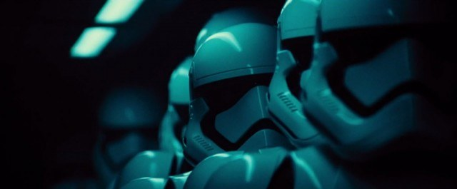 Stormtroopers as seen in 'Star Wars: The Force Awakens'
