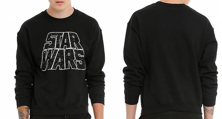 Star Wars Logo Crew Pullover