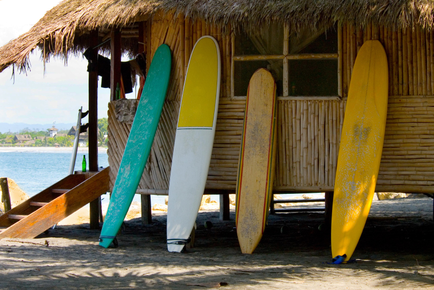 Surf Boards, beach