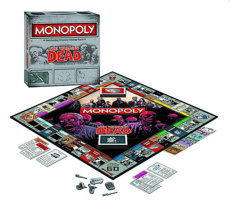 The Walking Dead Monopoly