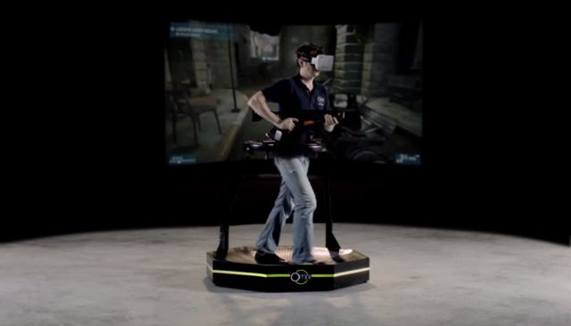 Virtuix Omni VR game system