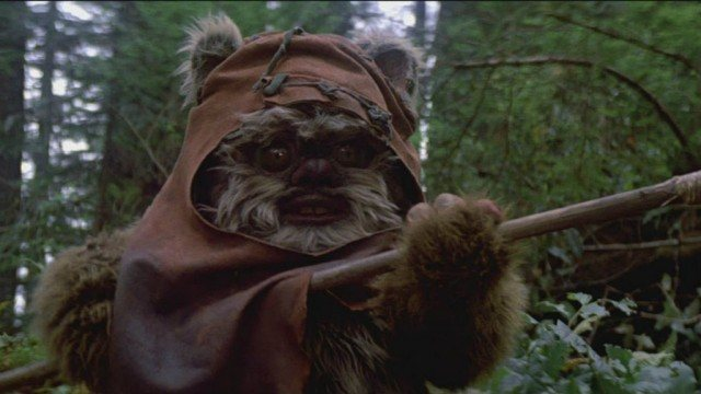 Warwick Davis in Return of the Jedi
