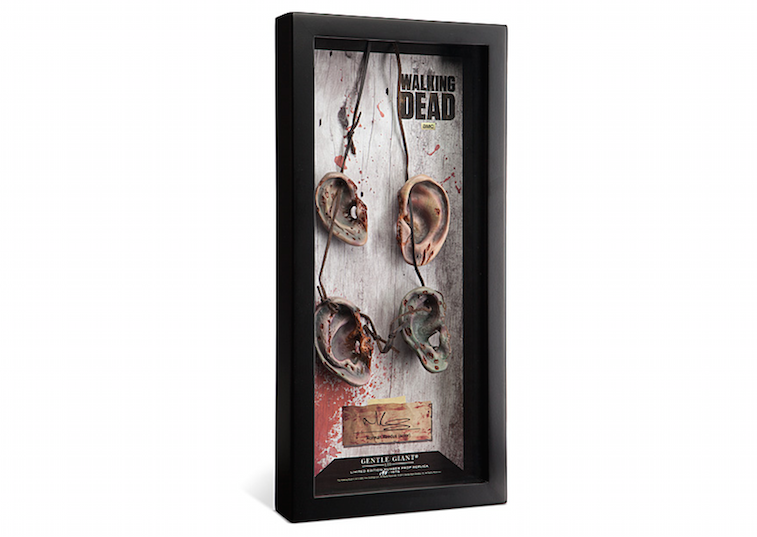 Daryl Dixon Zombie Ears Necklace Prop Replica