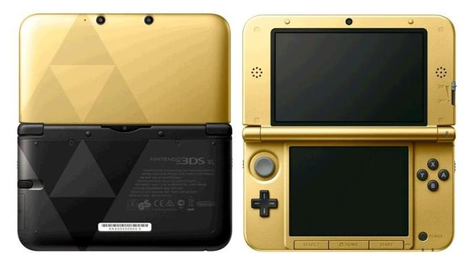 The Link Between Worlds special edition of Nintendo 3DS