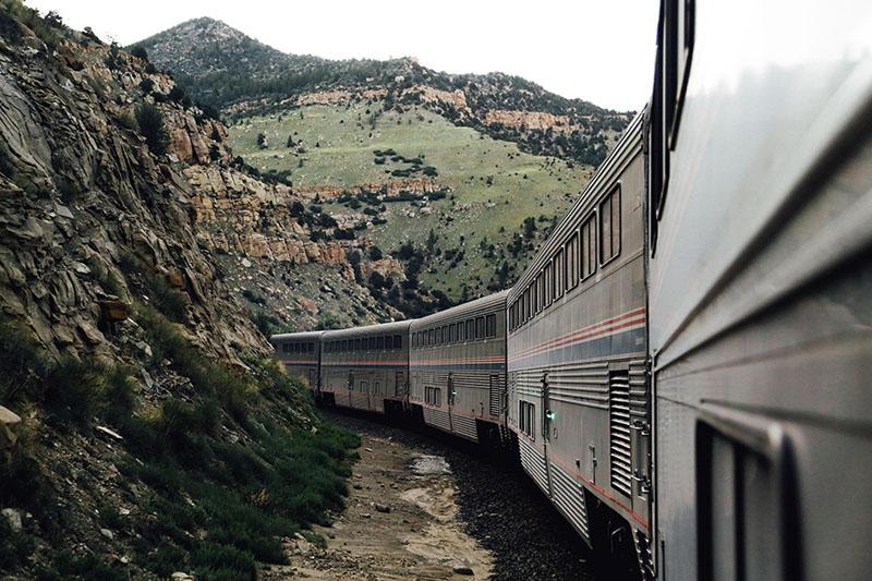 california zephyr, train
