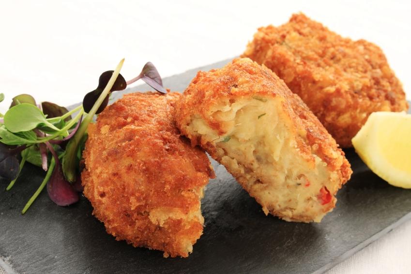 fried crab bites