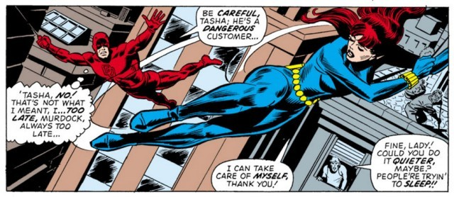 daredevil black widow Marvel