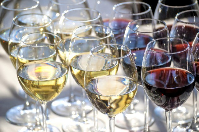 Keep wine glasses sparkling clean with a coffee filter.   iStock/Getty Images