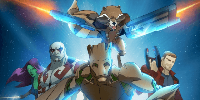 Guardians of the Galaxy - Disney XD