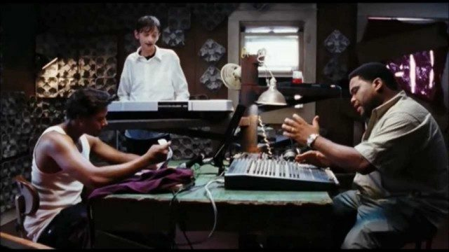 Terrance Howard, DJ Qualls and Anthony Anderson in 'Hustle & Flow'