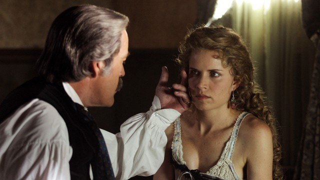Kim Dickens in 'Deadwood'