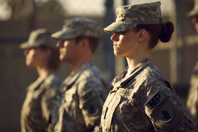 Kristen Stewart in 'Camp X-Ray'