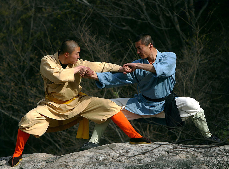 Warrior Monks Of Shaolin Temple, Kung Fu