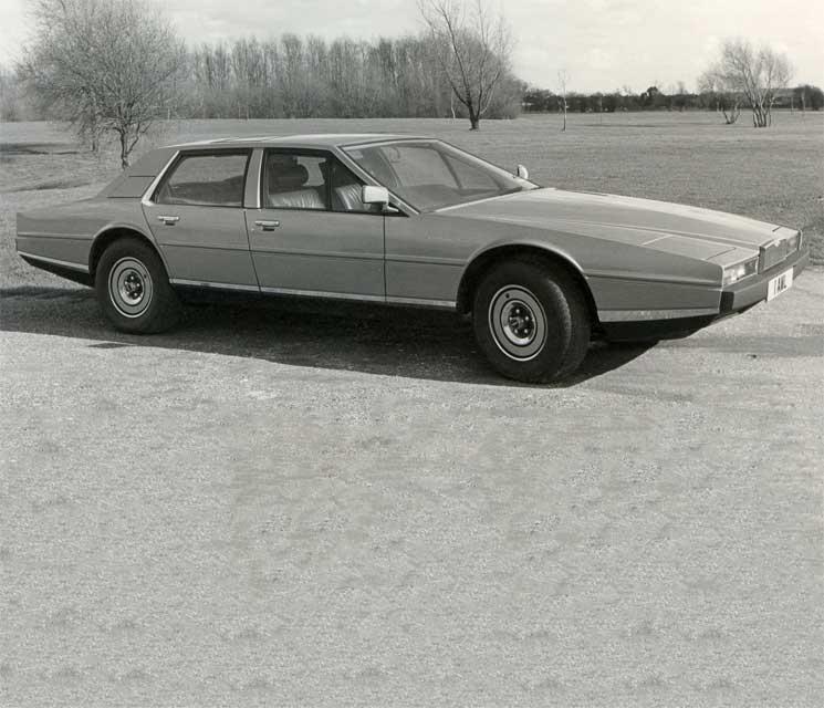 Aston Martin Lagonda: More Exclusive Than Any Rolls-Royce