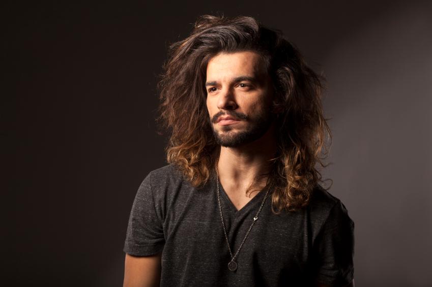 man with a beard and long hair