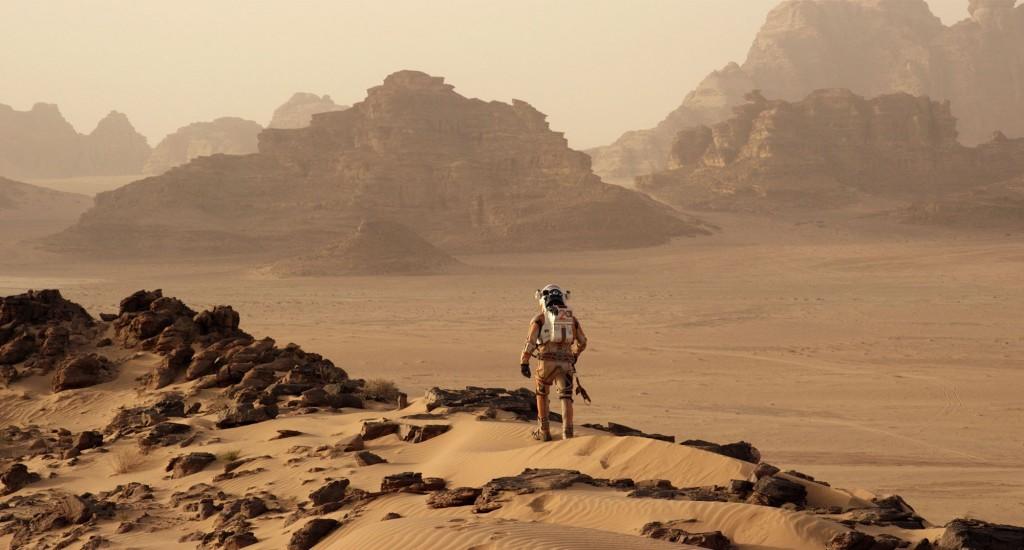 The Martian, starring Matt Damon