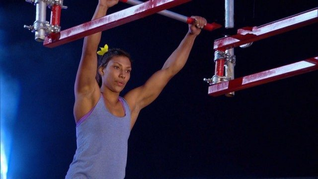 Meagan Martin on 'American Ninja Warrior.'