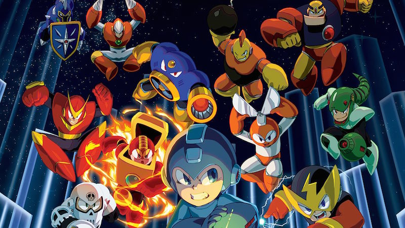 Mega Man and robot villains