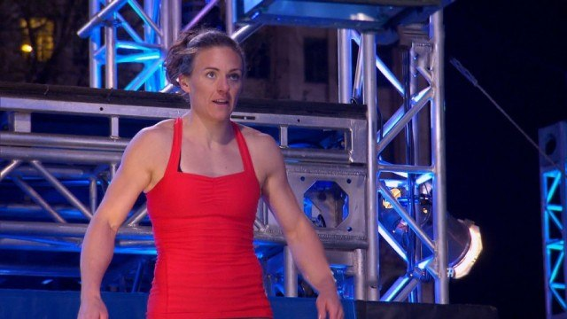 Michelle Warnky in 'American Ninja Warrior.'