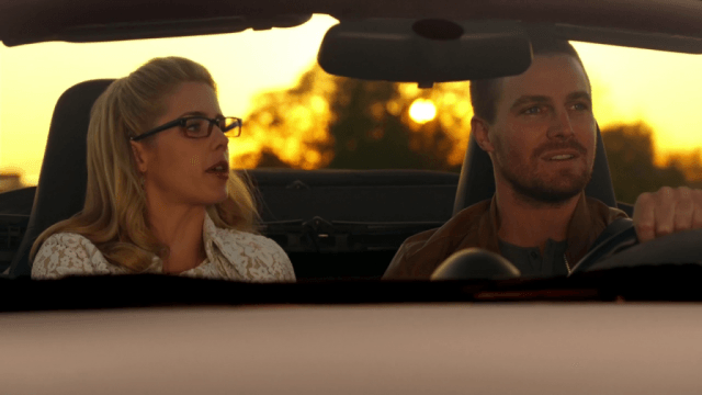 oliver and felicity, Arrow - The CW