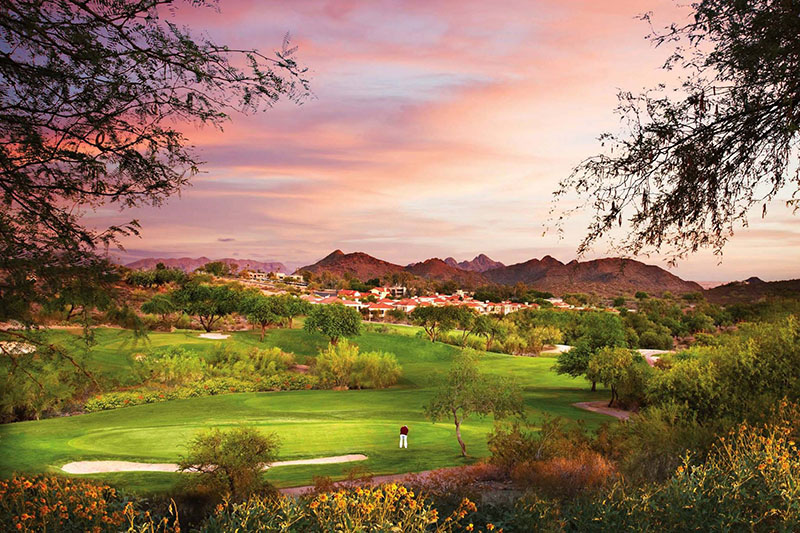 A Phoenix golf course