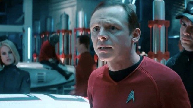 Simon Pegg in 'Star Trek'