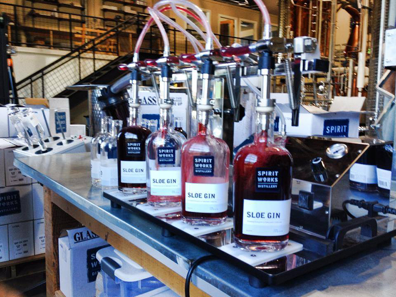spirit works distillery sloe gin