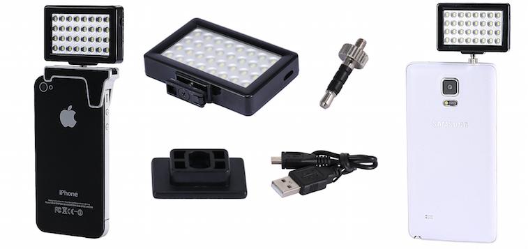 Neewer 32 Pcs Mini LED Video Light