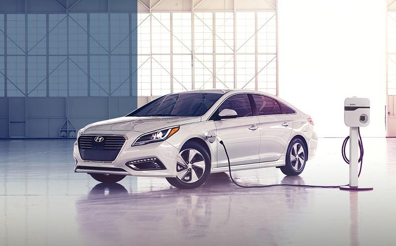 Hyundai Sonata PHEV plug-in hybrid