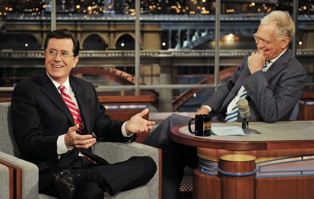 David Letterman, Stephen Colbert