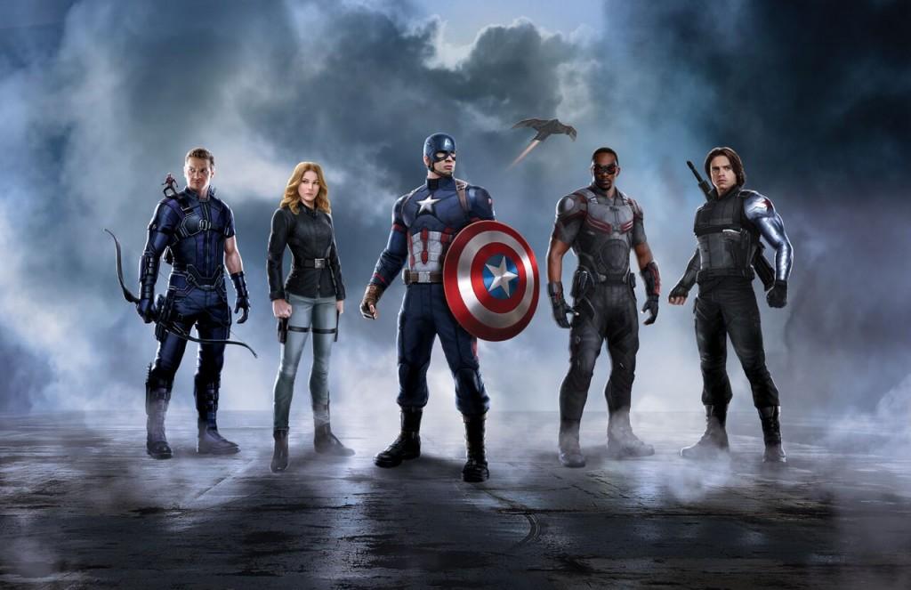 Team Captain America: Civil War