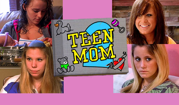 Teen Mom introduction and logo.