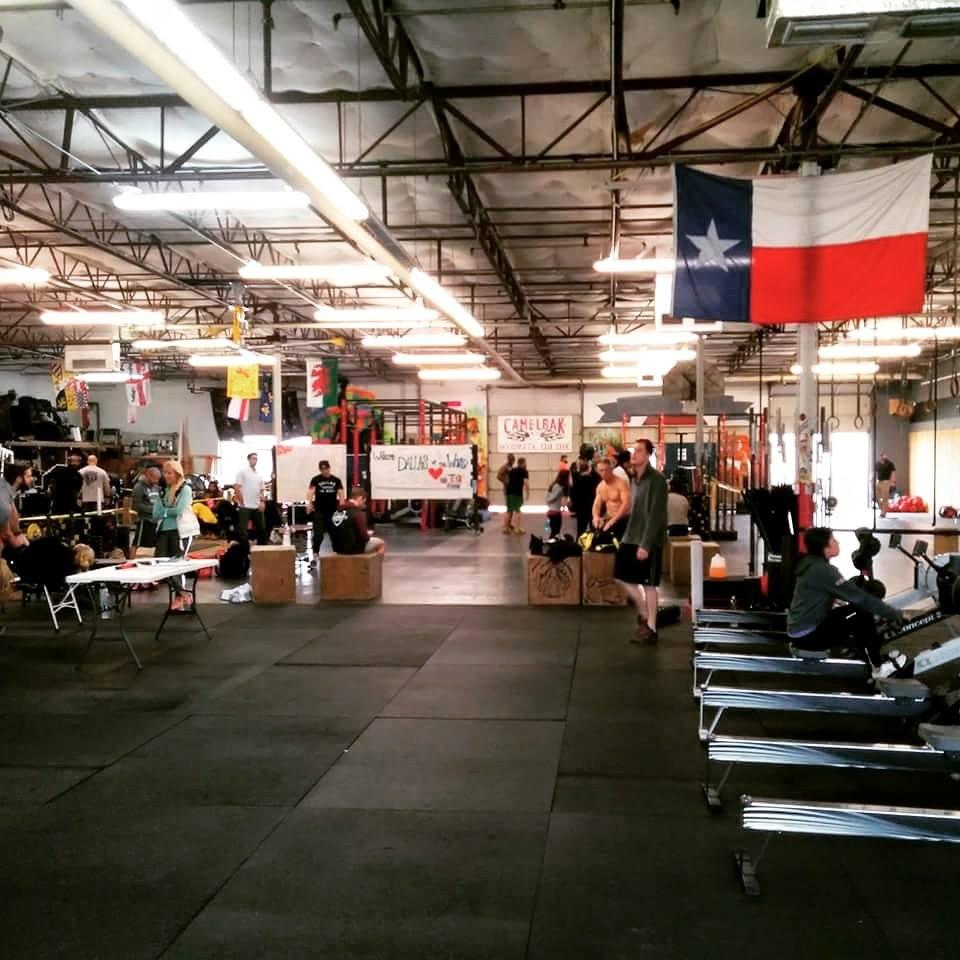 a crossfit gym