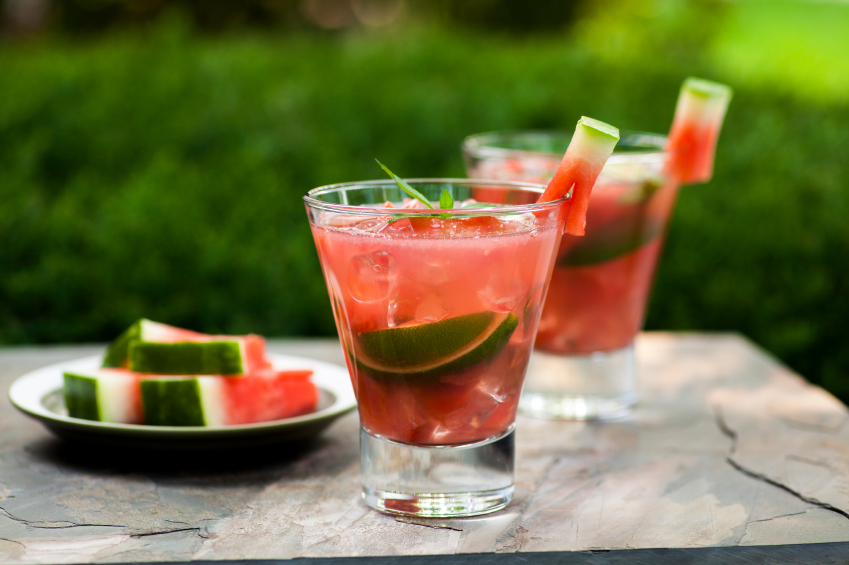 refreshing sangria cocktail