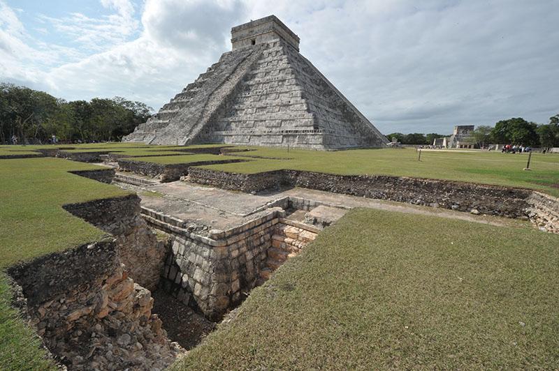 Yucatan peninsula, mayan ruins, Mexico