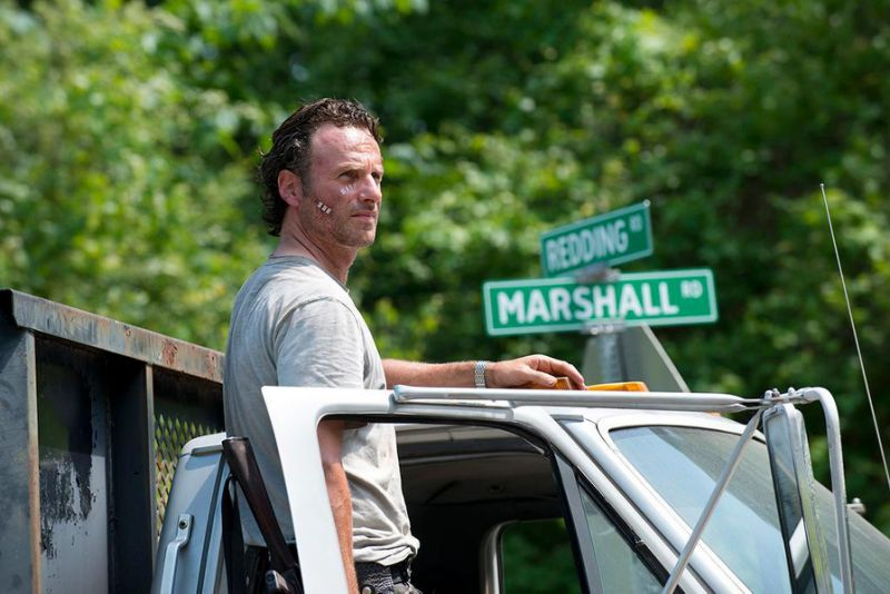Rick Grimes (Andrew Lincoln) on The Walking Dead