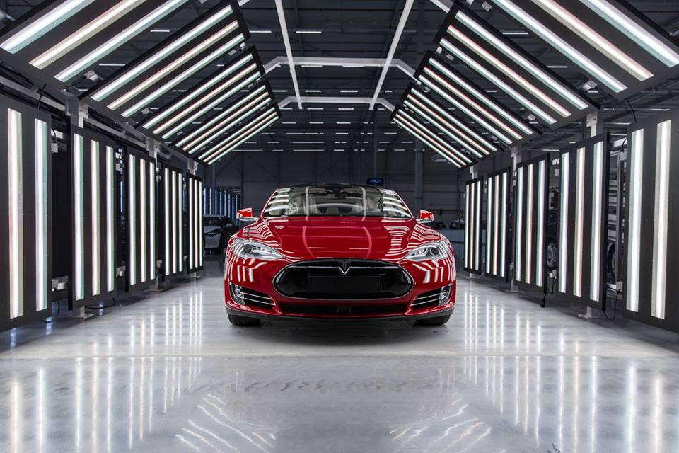Tesla Motors Factory Model S