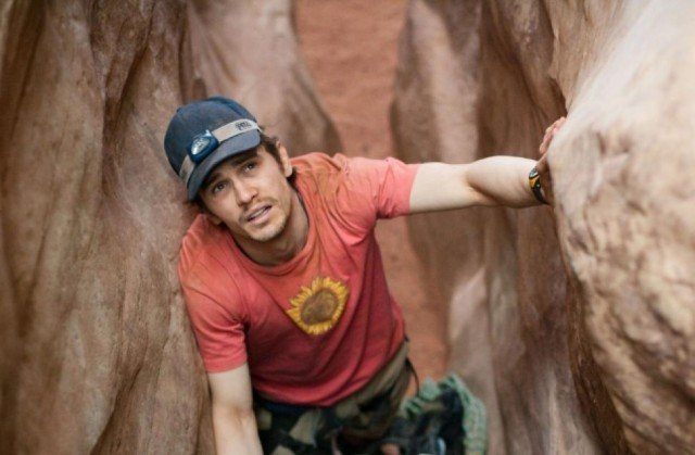James Franco in '127 Hours'