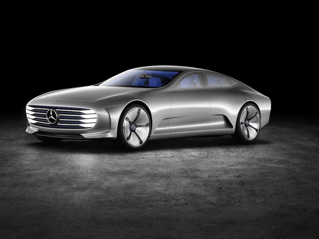 """Mercedes-Benz """"Concept IAA"""" (Intelligent Aerodynamic Automob"""