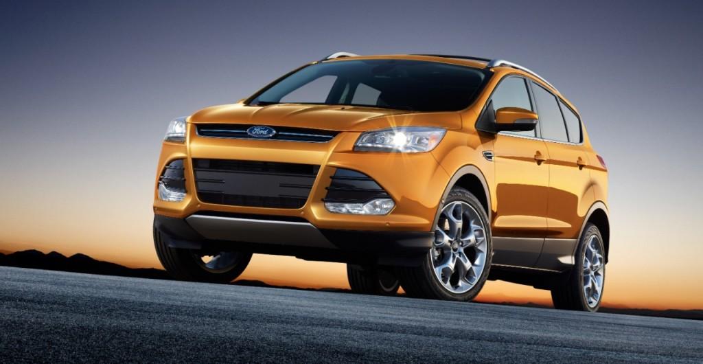 Ford Escape Titanium Source: Ford