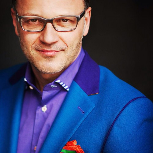 edo popken colorful men's suit